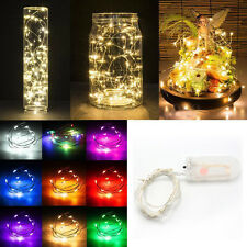 2M String Fairy Light 20 LED Battery Operated Xmas Lights Party Wedding Lamp NEW