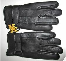 Men's Leather Gloves by Echt Leder With Adjustable Strap XL