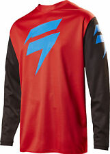 Shift Racing Red/Black/Blue White Label Ninety Seven 97 Dirt Bike Jersey MX ATV
