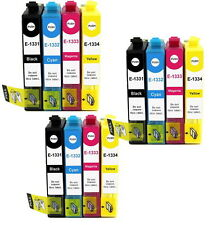 12 INK CARTRIDGES T133 133 for EPSON Printer NX130 NX125 NX420 NX430 WF325 525