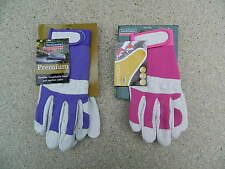 Town & Country Comfort Fit Gloves Premium. pink & purple, small & Medium TGL104