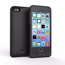 2200mAh External Battery Backup Case Charger Apple MFI Certified For iPhone 5 5s