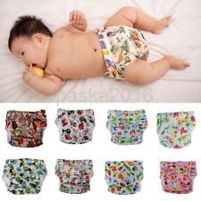 Infant Baby Cloth Diaper Nappy Covers Reusable Nappies Leak-proof Pocket Nappy