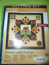 Countryside Cottage Quilt Jo Ann Quilt Blocks of the Month  2 fill your spaces