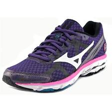 Mizuno Wave Rider 17  W Round Toe Synthetic  Running Shoe