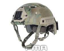 FMA FAST Helmet-PJ TYPE Tactical ABS Helmet Multicam For Airsoft Paintball