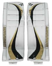 Brand New Warrior Swagger ice hockey Goalie Pads Sr. goal leg pad senior 33 Gold