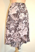LADIES DESIGNER HOBBS LONDON PRETTY FLORAL LAYERED OCCASION SUMMER SKIRT 12 VGC