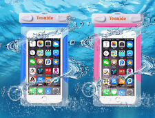 Underwater Waterproof Pouch Dry Bag Case Cover For Cell Phone iPhone Touchscreen