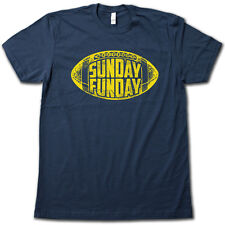 SUNDAY FUNDAY T-Shirt - Beer Drinking, Couch Surfing, NFL Football Party TEE!