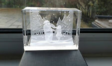 THE SNOWMAN CRYSTAL TREASURES - DANCING IN THE SNOW - LIMITED EDITION