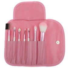 7pcs Cosmetic Makeup Blush Eyeshadow Brow Lip Blending Brushes Kit + Pouch Bag