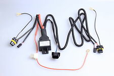 Xenon Lights 2Pcs HID Car Bulbs Lamp XENON SLIM KIT Wiring Harness Controller