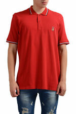 "Gianfranco Ferre ""Beachwear"" Men's Red Short Sleeve Polo Shirt Sz XS XL"