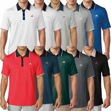 Adidas Golf Climacool® Tip Ventilated Tour Players Mens Golf Polo Shirt
