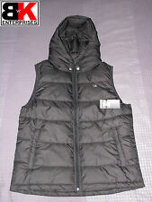 "Champion Zipped Hooded ""Powertrain Puffer Vest"", Jacket Black, Mens, BNWT"