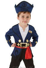 Child Disney Jake And The Never Land Pirates Boys Fancy Dress Costume 510157