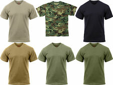 Camouflage Tactical Military Short Sleeve Moisture Wicking Camo T-Shirt