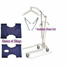Invacare 9805P Hydraulic Patient Lift Kit; Incd. Chains & Choice of Slings
