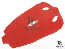 PELGIO Real Genuine Stingray Shagreen Skin Soft Leather Hide Pelt Red Grade A