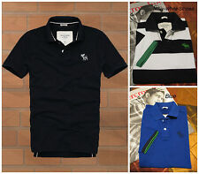 NWT ABERCROMBIE & FITCH MEN'S POLOS SHIRTS SIZE S, L