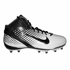 New Nike Air Zoom Alpha Talon TD Football Cleats 443308-001 (Black/Black-White)