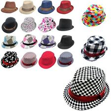 Fashionable Kids Jazz Toddler Cap Cool Photography Fedora Hat For Children