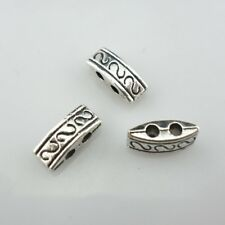 20/80/600pcs Tibetan Silver Connectors Bails Charms Jewelry Findings 4x10mm