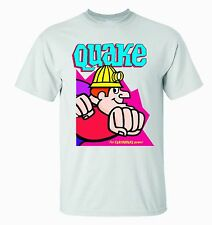 QUAKE CEREAL T-SHIRT / QUAKER QUISP QUANGAROOS RELATED- BEAUTIFUL GRAPHICS!