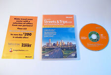 MINT Microsoft Streets & Trips 2008 with Connected Services Software with Key