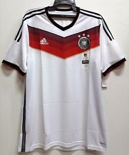 BNWT GERMANY AUTHENTIC HOME WORLD CUP 2014 2015 FOOTBALL SOCCER JERSEY TRIKOT