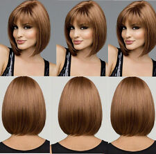 Sexy 4 Colors Straight Hair Wigs Full Short Hair Fashion Party Womens Cosplay