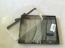 Viyella Wool Blend Scarf, Lovat Check, Made in Italy, Gift Boxed, BNWT