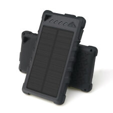 100000 mAh Power Bank Solar Charger Waterproof Backup Power for Mobile Phone