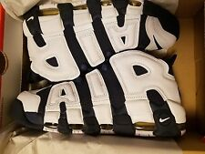 "2016 Nike Air More Uptempo ""Olympic"" 414962-104 GS & MEN Size: 4y-13"