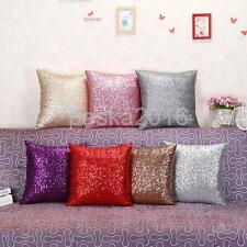 Fancy Sequins Sofa Bedroom Square Pillow Cushion Cover Case Throw Car Home Decor