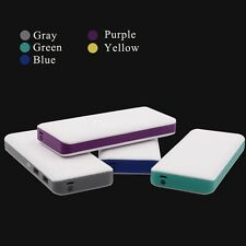Ultra Slim 50000 mAh 2 USB Portable Power Bank Battery Charger Backup for Mobile