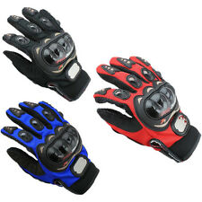 Motocross Fingers Enduro Protective Motorbike Motorcycle 2016 Racing Gloves Full