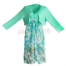 Womens Plus Size Clothing Long Sleeve Tops +Dresses Summer Beach Strappy Dress