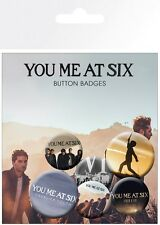 You Me At Six Badge Pack 10x15cm