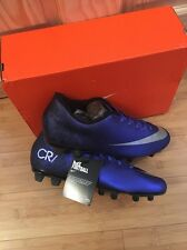 Nike Vortex CR7 Firm Ground Football Boots Size 9.5 Adults BNIB Deep Blue
