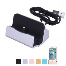 USB Charger Dock Stand Sync Data Charging Station Cradle For iphone 5/6/6s plus