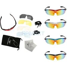Polarized Cycling UV Sunglasses Outdoor Bicycle Glasses with Frame 4 Colors