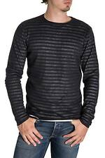 ONLY & SONS - Men's striped regular fit pullover dave crew neck knit
