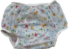 Baby Pants Gerber Frosty PEVA plastic pants in Adult Sizes - Extremely Crinkly