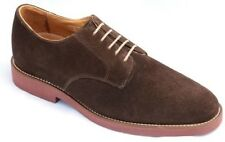 Neil M Men's Cambridge Casual Suede Lace Up Oxford Shoes Chocolate NM101043