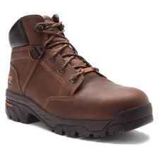 Timberland Men's PRO® Helix WP Leather Safety Toe Work Boots Brown TB085594214