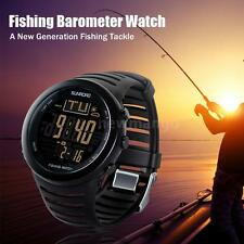 DIGITAL FISHING WATCH BAROMETER ALTIMETER THERMOMETER WEATHER FORECAST R2F5