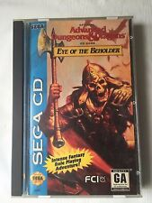 EYE OF THE BEHOLDER (SEGA CD) COMPLETE CIB Dungeons & Dragons - TESTED
