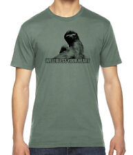 Sassy Southern Sloth Funny Graphic American Apparel Fine Jersey T-Shirt RC14348